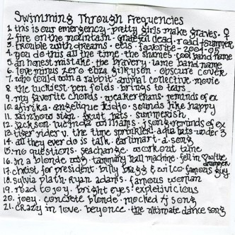 Swimming Through Frequencies